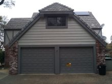 Before old garage doors