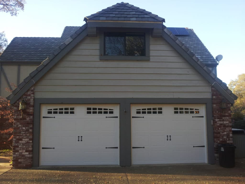 After garage doors