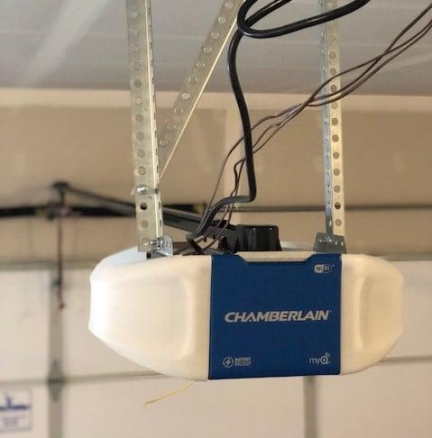 chamberlain wifi myq garage door opener